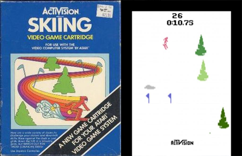 Skiing Atari