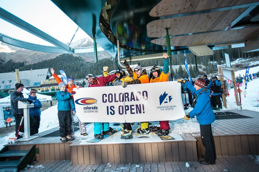 A-Basin, OPEN for business!