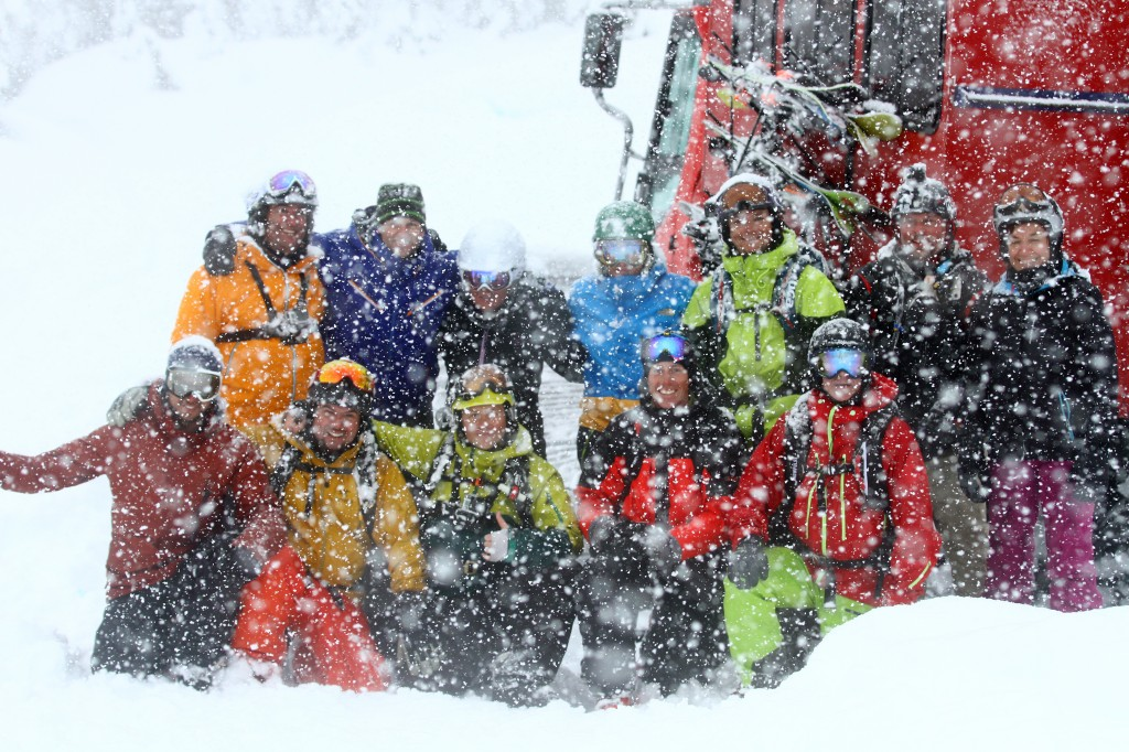 The Boys at Powder Mountain Cat-Skiing