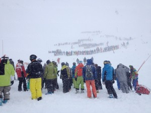 photo avalanche tignes. LE DL